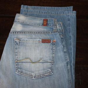 7 For All Mankind Jeans Boot Cut Size 28